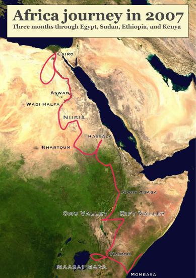 Africa-map-trip-in-2007
